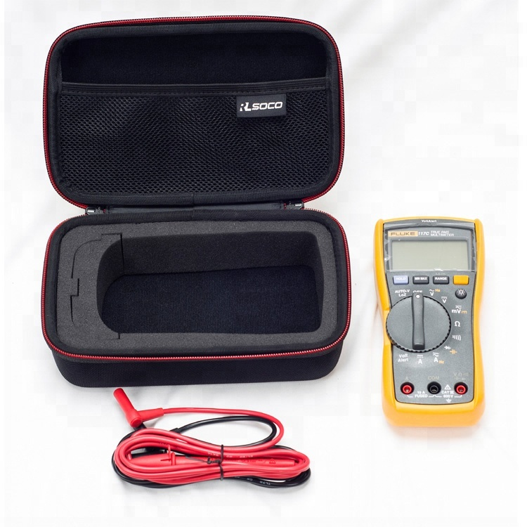 RLSOCO Hard Carrying case for Auto-Ranging Digital Multimeter Neoteck 6000 Counts BM235 Tacklife DM01M Fluke <strong>101</strong>