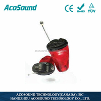 CE Approved Competitive Price AcoSound Acomate Ruby-I IIC hearing aid, ear micro surgical instruments