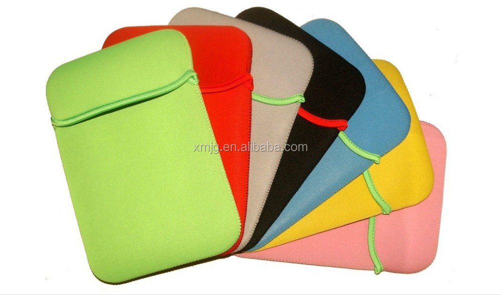 Wholesale custom neoprene waterproof and shockproof laptop bag laptop sleeve for ipad and laptop