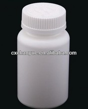 Clear and White Color Tamper evident plastic capsule container/ bottle / jars