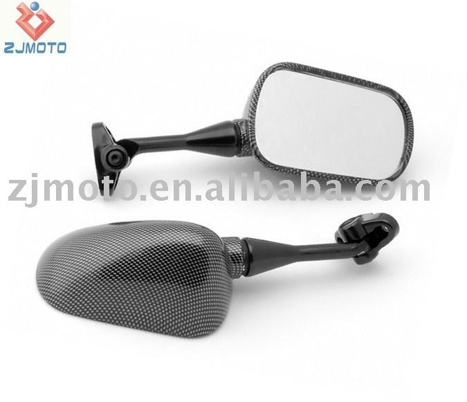 MOTORCYCLE MIRRORS 1999-2006 CBR 600 F4 F4i / RC51 / RVT 1000 Carbon Racing Mirrors