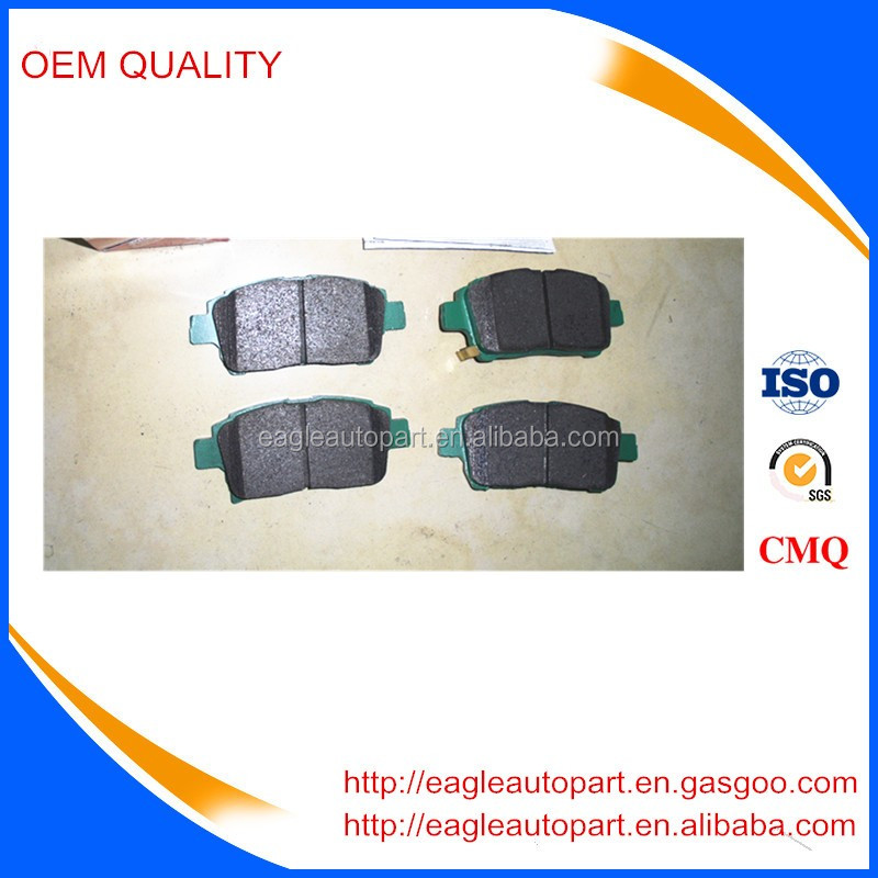 Brake Pad Set 04465-13050 used for Toyota Celica Corolla Pruis Yaris