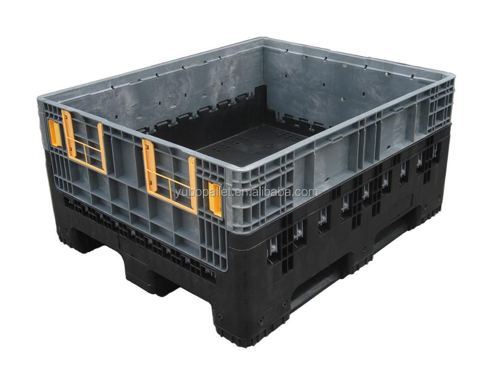 China large folding pallet crates intermediate bulk containers container (ibc) 1000x1200x975mm