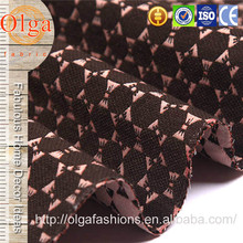 Good wear resistance bowknot shaped quilted fabric for sofa covers