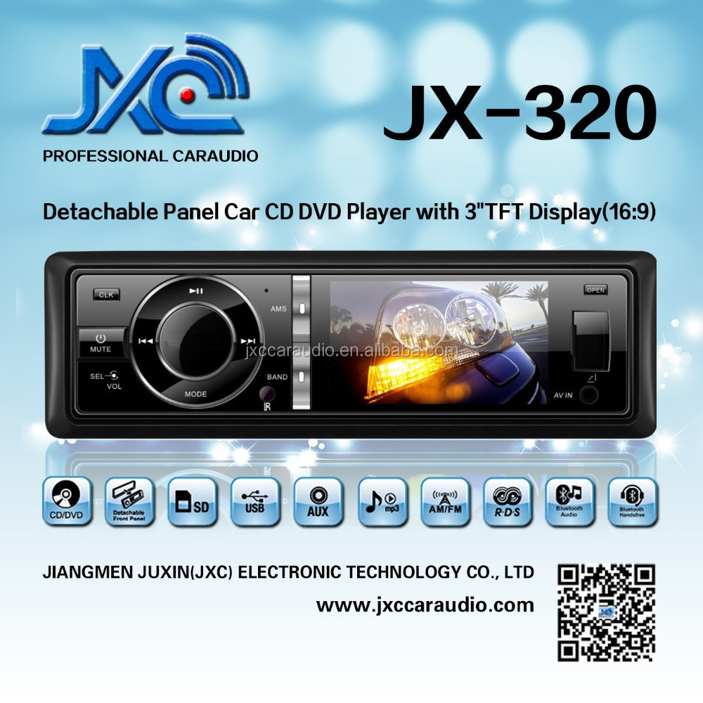 "Xtrons 3"" HD TFT One Din Car Radio with Touch screen--JX-320"