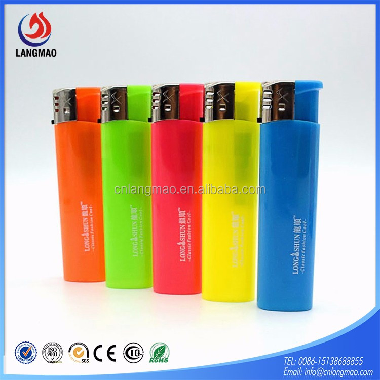 Disposable Cigarette smoking plastic lighter