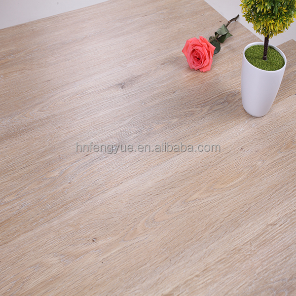 12mm handscraped laminate engineered prefabricated wood floor