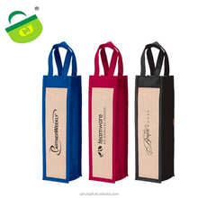 non woven material 1 bottle wine gift bag