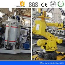 China supplier Polyurethane car seat cleaning auto cushion production line