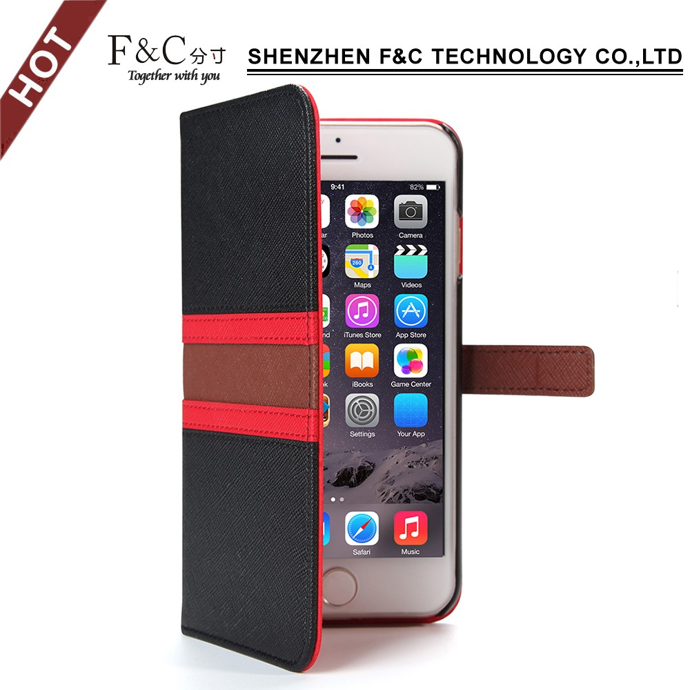 OEM Wholesale leather case For iphone 7 case