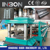 China Supplier Guardrail Plate Cold Rolled Steel Forming Machine