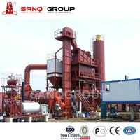 Road Construction Equipment LB1000 Asphalt Batching Plant Asphalt Mixing Plant, Asphalt Batching Plant 80TPH