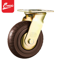 6inch Double ball bearing agv steer power wheels casters