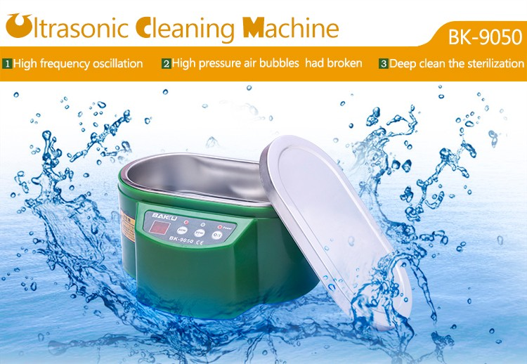 Display cleaning machine washing machine best selling 2016 Ultrasonic Cleaner BK9050