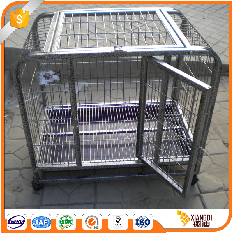 Fast Supplier biggest stainless steel dog cage