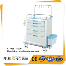 Hospital medication delivery cart with baskets for sale