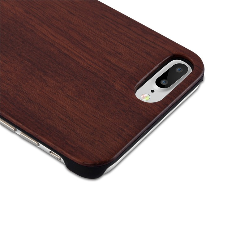 Accepting OEM ODM service MOQ 10 pcs bamboo pc wood phone case for iphone 7 plus