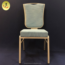 Luxury Upholstery Fabric Dining Chair for Wedding and Banquet Event
