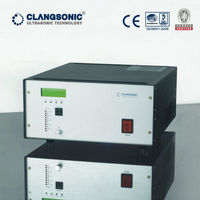 Ultrasonic cleaning generator for ultrasonic biodiesel production emulsification homogenization