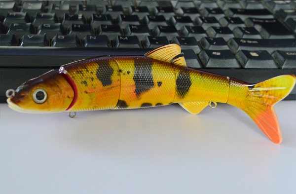 New design fishing lure with vibrating fish lure