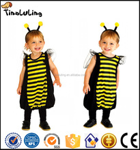 Little baby bee costume kids party fancy dress carnival animal cosplay costumes for kids