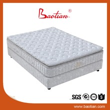 Box Spring Mattress with Pillow Top