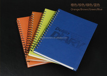 high quality Recycled Hardcover PU Spiral Notebook For Sale Wholesale