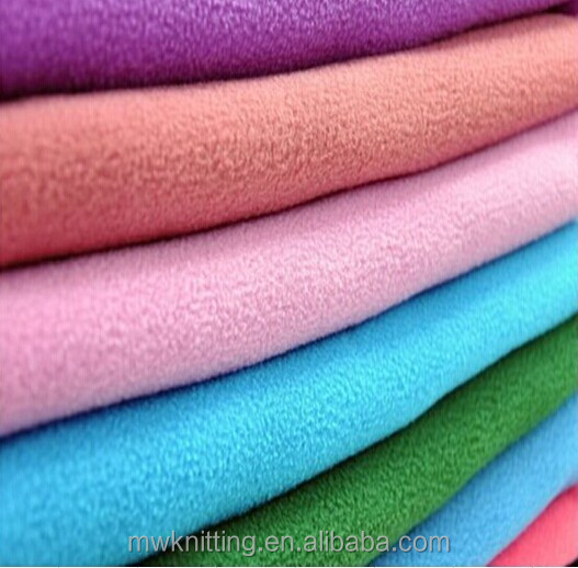 Two Side Brushed Oneside Antipilling Printed Polar Fleece Fabric for Bag,Badding,Blant