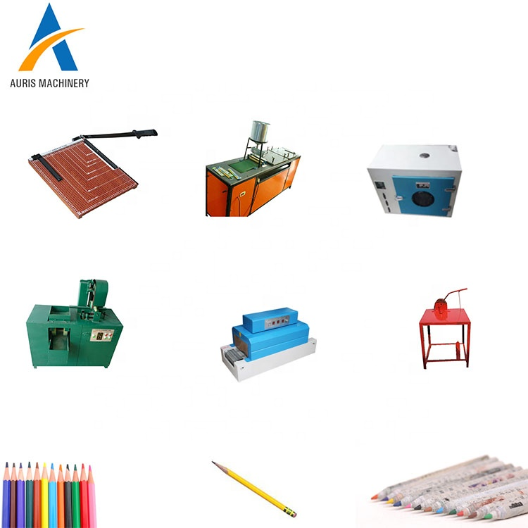 Complete waste recycled newspaper paper pencil making machine