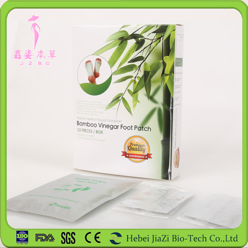 Customized product natural foot patch detox for japanes