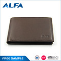Alfa China Products Pure Leather Credit Card Holder Travel Men'S Wallet