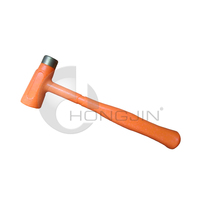 Hongjin Brass Dead Blow Hammer with Fibreglass Handle