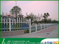 High Anti-Corrosion PVC Coated Steel Picket Fence Designs For House