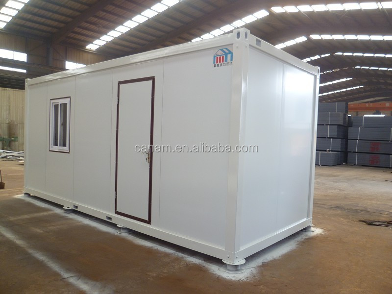 Light / energy saving steel structural container camp
