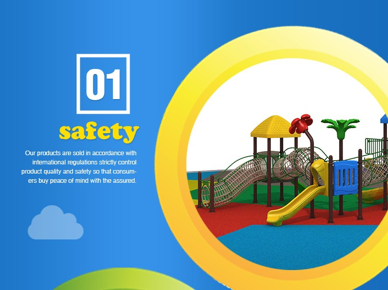 Kindergarten children's outdoor playground slides combination of large cell slides imported plastic toys