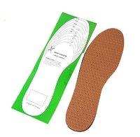 Comfortable shoe design massaging gel natural rubber leather insole steel toe emboss leather labor shoes