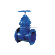 Soft seal ductile iron plastic powder coating gate valve