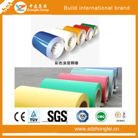 color coated galvanized steel metal roofing sheet in coil
