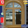 impact resistant French casement window/Aluminium double glazed Windows and Doors Comply with Australian & NZ standards