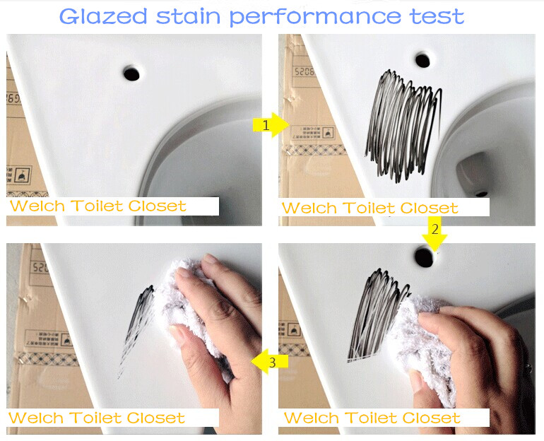 030 Square toilet seat design sanitary ware one piece washdown toilet wc
