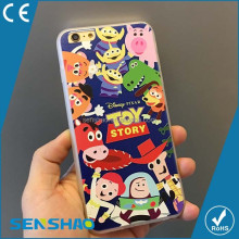 China wholesale cartoon characters patterns tpu cell phone case for iPhone 6 cases, 3d printing tpu mobile case cover