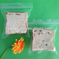 Plastic Food Storage Ziploc Bag Biodegradable with D2W Material