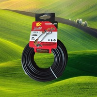 Petrol/Gas power type grass cutter nylon line brush cutter nylon trimmer head line India used garden tools