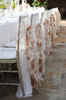 Made from SinoFur wholesale wedding chair covers for sale