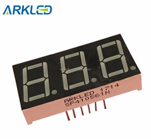 "0.56"" Amber Triple Digits 7 segment LED Digital Display"