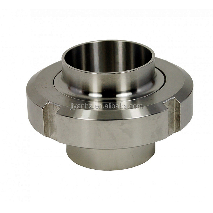 Zinc plated stainless steel slotted round nut