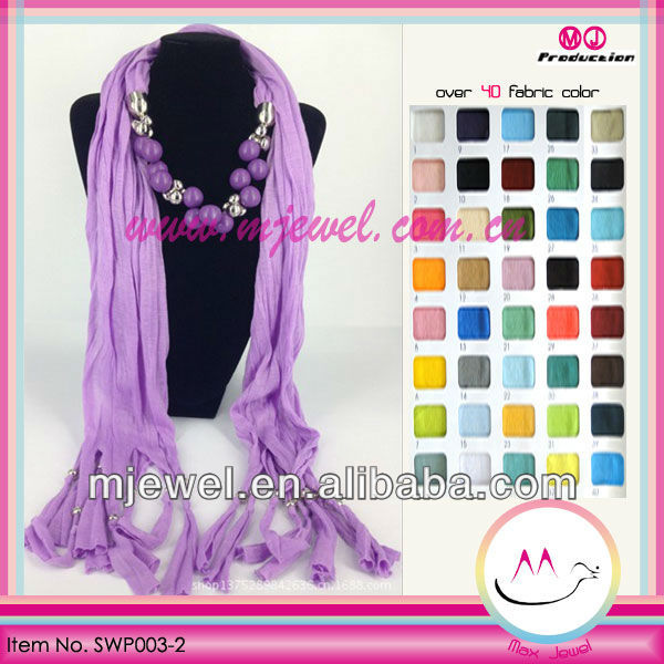 Chic wholesale beads large for scarf