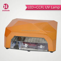 Dongri Diamond Shape ccfl led nail uv lamp with sensor