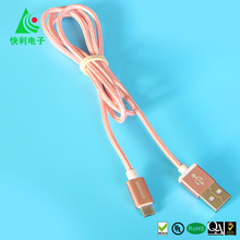 Data cable usb for mobile phone OEM/ODM usb charging cable for Android/iOS