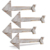 Promotional 4 pack wood arrow decor rustic wood arrow signs wall hanging decor